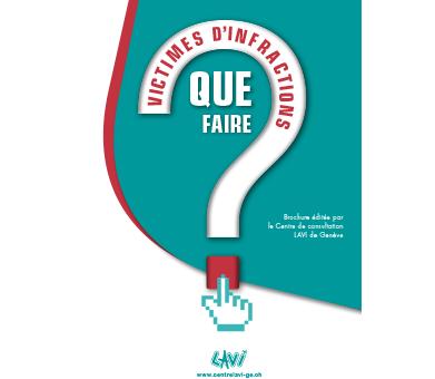 Brochure Infractions: Que faire?